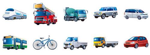 各种卡通汽车图 :装饰画素材网 datuku.net 最新潮的