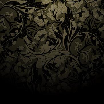 华丽花纹墙纸 :装饰画素材网 datuku.net 最新潮的无